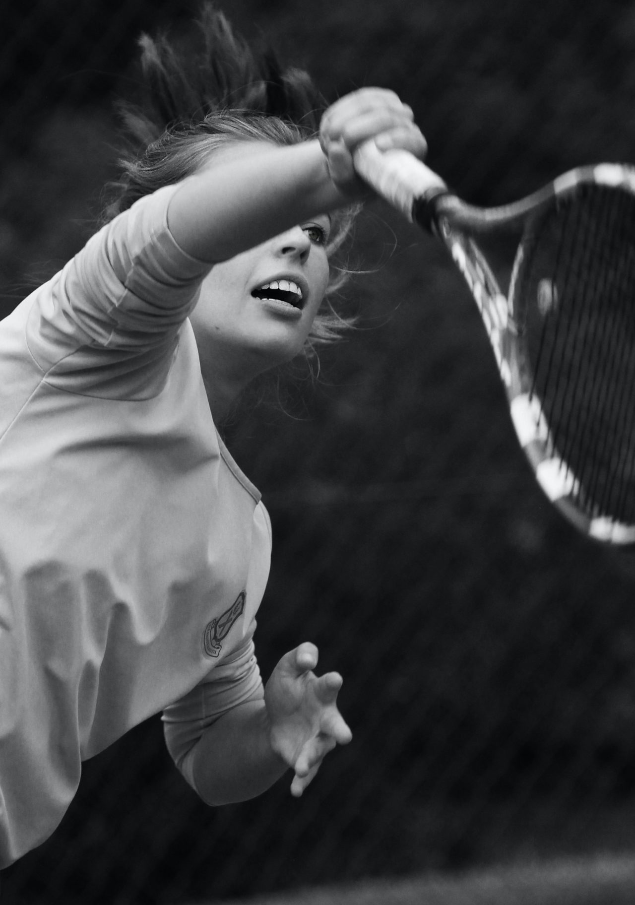 photo of tennis serve by Patrick Case on Pexels
